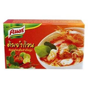 Бульонный кубик для приготовления супа Том Ям Knorr Tom Yum, 6 шт