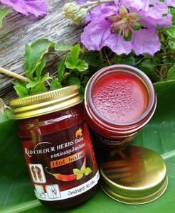 Лечебный красный тайский бальзам «Формула Чили», 50 гр