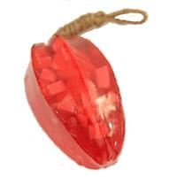 Тайское фруктовое мыло Красная карамбола с начинкой, 115 гр