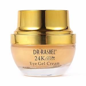 Гель-крем с золотом и коллагеном для кожи вокруг глаз Dr Rashel, 20 мл
