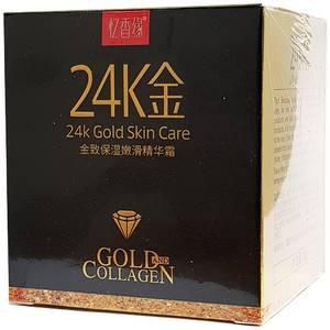 Омолаживающий крем для лица с золотом 24K Gold, 50 гр