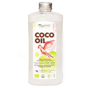 Кокосовое масло первого холодного отжима Tropicana New, 500 мл