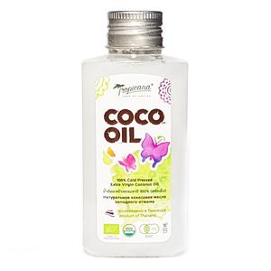 Кокосовое масло холодного отжима Tropicana New, 120 мл