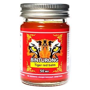 """Разогревающий бальзам """"Красный тигр"""" Binturong Red Tiger Balm, 50 гр"""