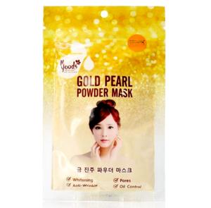 Золотая маска с жемчужной пудрой Moods Gold Pearl Powder Mask, 50 гр