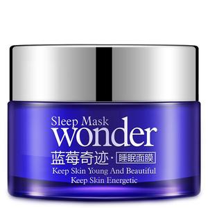 Ночная маска с экстрактом черники Bioaqua Wonder Sleep Mask, 50 гр