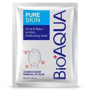 Маска для лица против акне Pure Skin Bioaqua, 30 гр