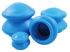 Антицеллюлитные массажные вакуумные банки резиновые, 4 шт