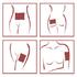 Антицеллюлитные пластыри для тела Missha Hot Burning Perfect Body Patch, 2 шт