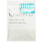 Антивозрастная плацентарная маска Quality 1st All in One, 5 шт