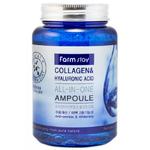 Антивозрастная сыворотка FarmStay Collagen & Hyaluronic Acid Ampoule, 250 мл