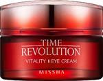 Антивозрастной крем для век Missha Time Revolution Vitality Eye Cream, 25 мл