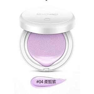База под макияж кушон (сиреневый тон) BioAqua Isolation Cream, 15 гр