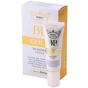 BB крем для лица на основе черной икры Mistine Wonder Gold SPF 30, 15 мл