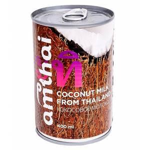 Кокосовое молоко Amthai Coconut Milk 15-20%, 400 мл