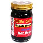 Черный бальзам из королевской кобры Cobra Strong Hot Balm Original, 100 гр