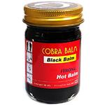 Черный бальзам из королевской кобры Cobra Strong Hot Balm Original, 50 гр