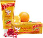 Детская зубная паста «Twin Lotus Kids» с апельсином и гранатом, 50 гр