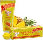 Детская зубная паста «Twin Lotus Kids» с крамолой и ананасом, 50 гр