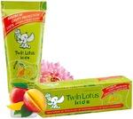 Детская зубная паста «Twin Lotus Kids» с манго и хризантемой, 50 гр