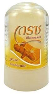 Дезодорант-кристалл с куркумой Grace, 40 гр