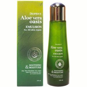 Эмульсия для лица с алоэ вера Deoproce Aloe Vera Emulsion, 150 мл