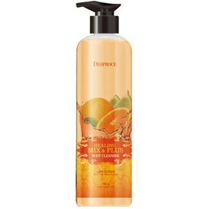 Гель для душа лимон и цитрус Deoproce Healing Mix & Plus Body Cleanser, 750 гр