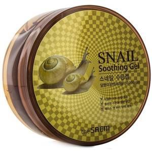 Гель для лица с экстрактом улитки The Saem Snail Soothing Gel, 300 мл