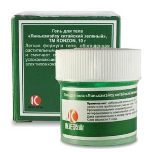 Гель для тела «Линькэмэйсу китайский зеленый» Konzon, 10 гр