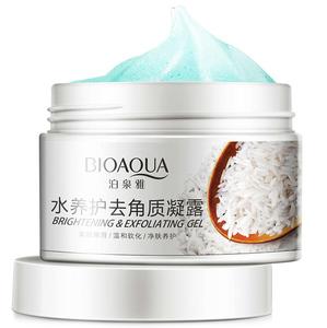 Гель-скатка с рисовым экстрактом BioAqua Brightening & Exfoliating Gel, 140 гр