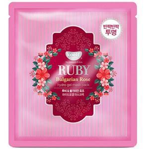 Гидрогелевая маска с розой Koelf Ruby & Bulgarian Rose Hydro Gel Mask Pack, 30 гр