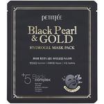 Гидрогелевая маска с жемчужной пудрой и золотом Petitfee Black Pearl & Gold, 32 гр