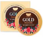 Гидрогелевые патчи для глаз с золотом и маточным молочком Koelf Royal Jelly, 60 шт