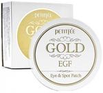 Гидрогелевые патчи для глаз с золотом Petitfee Premium Gold & EGF Eye Patch, 90 шт