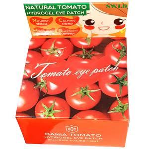 Гидрогелевые патчи для век с томатом SWLD Bania Tomato, 60 шт