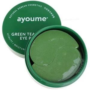 Гидрогелевые патчи с экстрактом зеленого чая и алоэ Ayoume, 60 шт