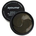 Гидрогелевые патчи с золотом и черным жемчугом Ayoume, 60 шт