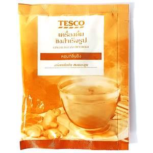 Гранулированный растворимый имбирный чай Tesco Instant Ginger Tea, 18 гр
