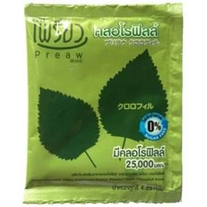 Хлорофилл питьевой в порошке Chlorophyll Preaw Brand, 1 пакетик