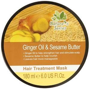 Имбирная восстанавливающая и лечебная маска для волос, 200 мл