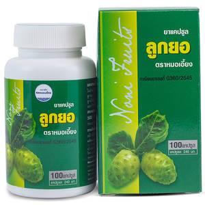 Капсулы Нони для иммунитета Kongka Mho-lang Noni Capsule, 100 шт