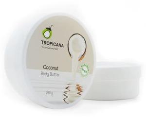 """Кокосовое крем-масло для тела Tropicana """"Coconut"""", 250 гр"""