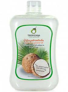 Кокосовое масло нерафинированное Tropicana, 1000 мл