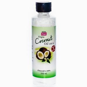 Кокосовое масло первого холодного отжима Banna Virgin Coconut Oil, 250 мл