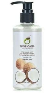 Кокосовое масло первого холодного отжима Tropicana, 250 мл