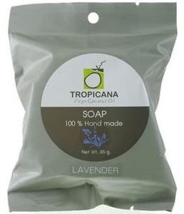 Кокосовое мыло Tropicana с ароматом лаванды, 85 гр