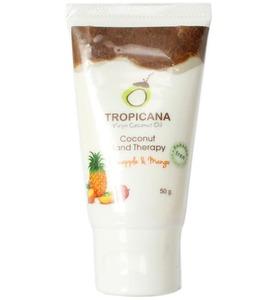 Кокосовый крем для рук Tropicana с ананасом и манго, 50 гр