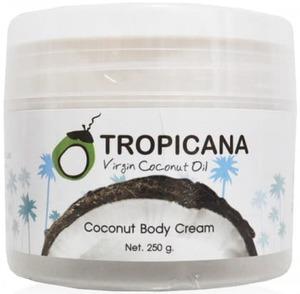 Кокосовый питательный крем для тела Tropicana, 250 гр