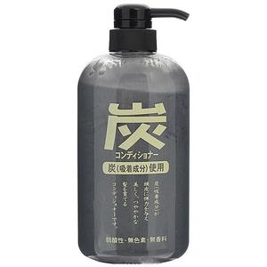 Кондиционер для волос с древесным углём Junlove Charcoal, 600 мл