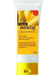Кондиционер для волос Twin Lotus «Золотой шелк с экстрактом шелковицы», 180 мл